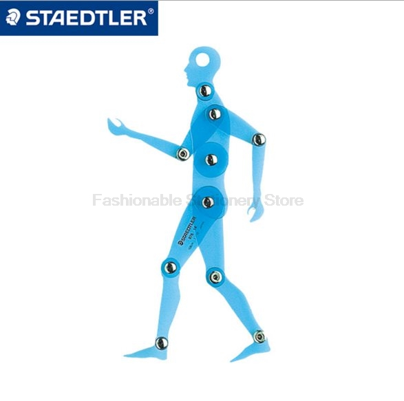 STAEDTLER 976 14 17.5cm Plane Activity Human Body Template Model 1:10 human body Painting Teaching Tools<br>