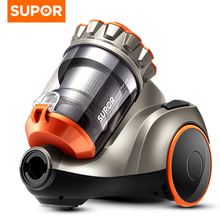 Supor Home Small Handheld Strong High Power Vacuum Cleaner Mini Super Sound-off In Addition To Mites Horizontal Vacuum Cleaners(China)