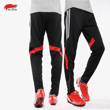 Autumn Winter Men kid's Sport Quick-drying Running Thicken Plus velet Closing Leg Trousers Football Training pants soccer balls