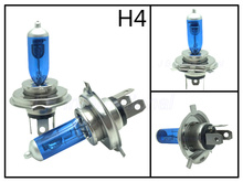 2pcsX55W H4 halogen bulbs Xenon Plus White 5500K Y-Gold 3000K  for Toyota RAV4 1996-2005 Dual-beam ONLY