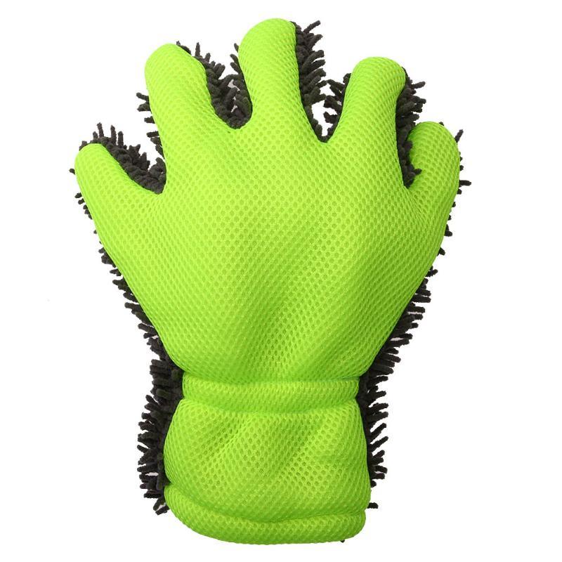 Microfiber Car Washing 5 Finger Gloves