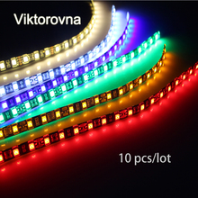10Pcs/lot 30cm 18 LED Daytime Running lights DC 12V 5050 SMD ip65Waterproof Auto Car DRL COB Driving Fog lamp Flexible LED Strip(China)