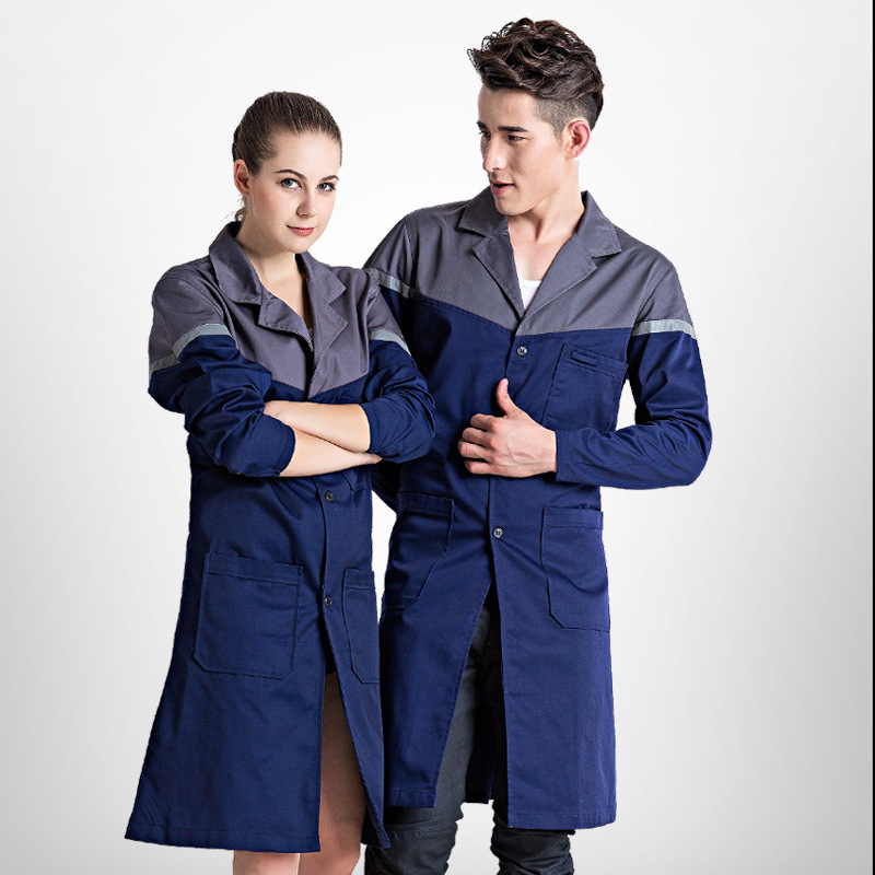 Work overalls mens protective coverall Repairman Work long coat Size Sleeveless Cargo Pants Nice work clothes Handling clothes<br>