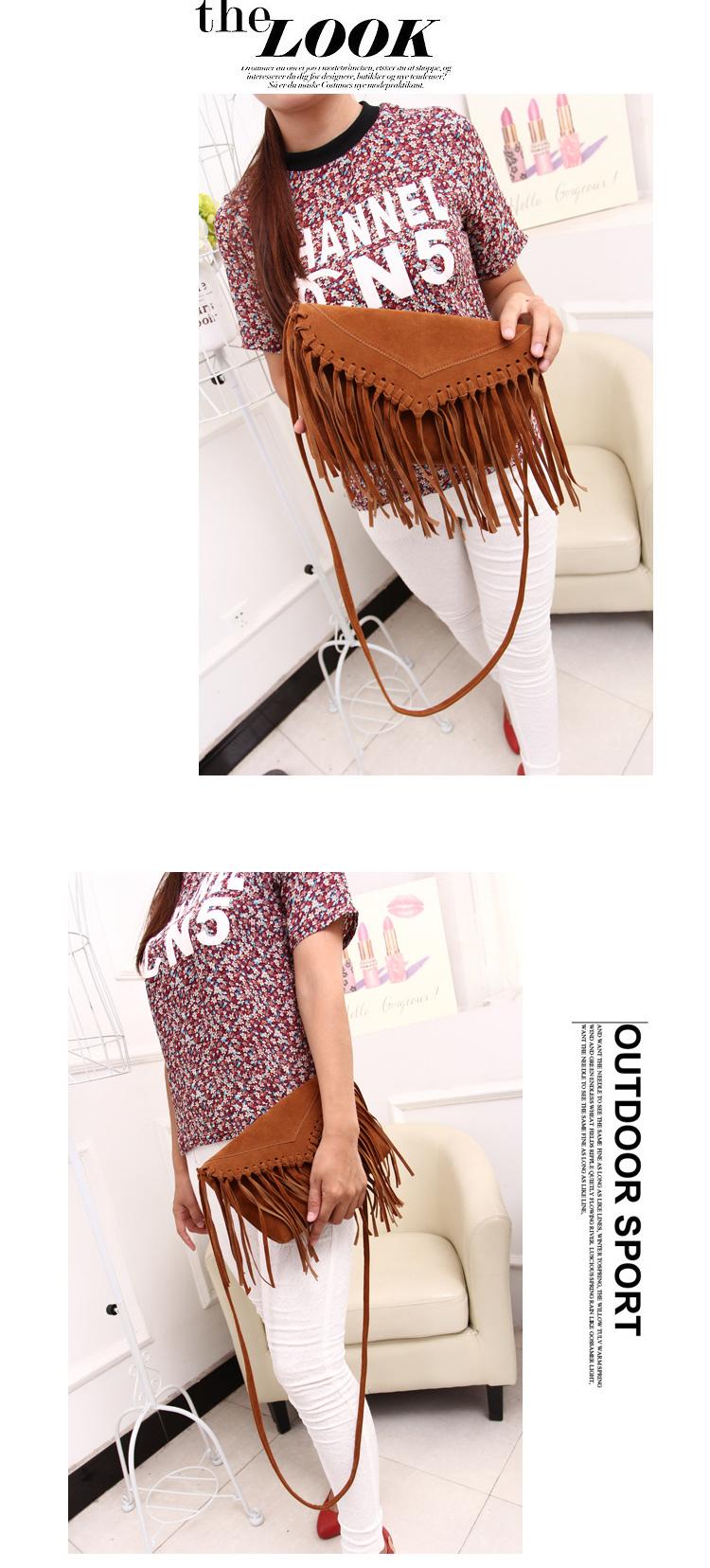 women bag fringe tassel bags (6)