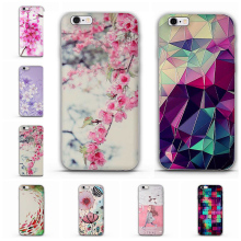Newest Fashion Colorful Luxury 3D Flower Pattern Case for Apple iPhone 5 5S Cases Cell Phone Soft TPU Back Cover for iphone SE(China)