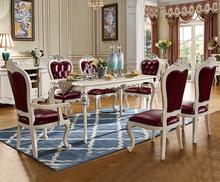 Foshan ProCARE Dining table and chair modern 6 chairs(China)