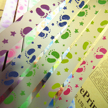 210pcs/lot Luminous Origami Star Paper Handmade DIY Lucky Paper Stack Colored Crepe Paper Scrapbooking Paper Making Wishing Star