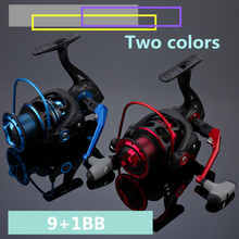 HM1000-4000 series 5.2:1 10BB super plastic fishing reel vessel spinning wheels fishing accessoires pesca tackle 1606374