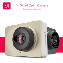 "[International Version] Xiaomi YI Smart Dash Camera WiFi Car DVR Night Vision HD 1080P 2.7"" 165 Degree 60fps ADAS Safe Reminder"