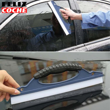 Easy car window cleaner Car Window Wiper Wash Clean Water super clean Silicone snow wash snowplow cleaning Drying Blade