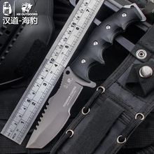 HX Outdoors Survival Huntsman Knife Karambit Tactical Camping Hunting Knives 100% 440C Fixed Cold Steel Blade Straight Knife EDC