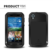 D820 Original Love mei Waterproof Case For HTC Desire 820 case Dropproof Aluminum case Powerful shockproof Case
