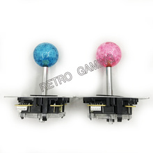 joystick DIY Arcade game parts Arcade joystick 5 Pin interface Fighting rocker 4 way 9 color ball for choose(China)