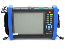 "Free shipping!IPC-8600A 7"" Touch screen IP 1080p-30fps-AHD Camera Monitor PTZ TESTER 12v-Out"