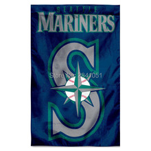 6 Color Seattle Mariners Outdoor Indoor Garden Baseball College House Flag 3X5 Custom Any Flag