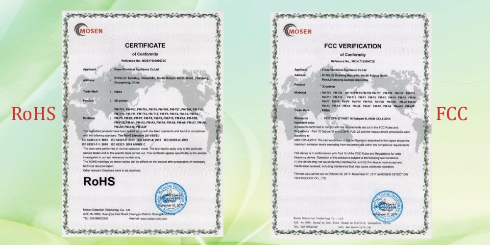FCC ROHS 1-4