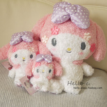 New Sanrio Cartoon Figure Doll My Melody Pink Baby Anime Toys Soft Pendant Doll Stuffed Plush Animal Toy For Baby Girls Kids
