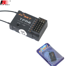 1pcs New 100% Original FrSky 2.4G 7channels receiver TFR6/TFR6A For Futaba