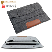 "for macbook Wool Felt bag for macbook 11""13""15""17"" Ultrabook Laptop Sleeve Pouch For Macbook Air Pro Retina Case Notebook Inner"