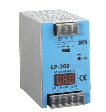 ac-dc power supply LP-300-12 300W 12V 25A LED Driver din rail switching power supply with Digital display for LED Strip light<br>
