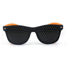 Vazrobe Pinhole Glasses Men Women Detachable Lens Perforated Sunglasses with Therapy Anti-fatigue Anti-myopia Adult Kids Goggles