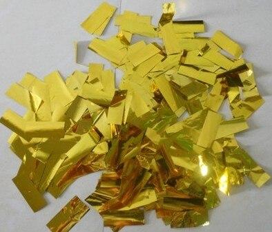 confetti for the confetti machine  golden and silver  aluminum foil<br>