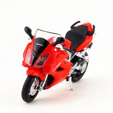 1:18 Maisto Honda Motorcycle Toy, Diecast & ABS Simulation Motor Cycle, Collectible VFR Mini Models, Toys For Children, Juguetes(China)
