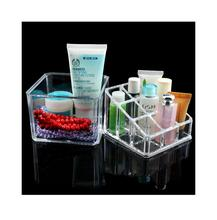 WITUSE High Quality Acrylic Cosmetic Organizer Storage Cabinet Box Case Clear Jewelry Makeup Drawers