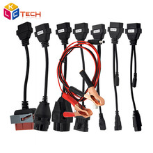 Promotion OBDII OBD2 Full Set 8 Car Cables Work For TCS CDP Pro Plus Car Cable Diagnostic Scan Tool Interface