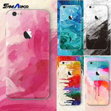 Personality TPU Graffiti luxury Soft Silicon Coque For iPhone X 8 4 4S 5 5S 5C SE 6 6s 7 Plus Case painting Inkjet Pattern(China)