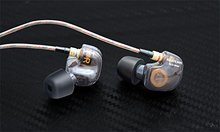 AB15828 KZ-ATE 3.5mm Heavy Bass Ear Headphones Music Sound Call Phone Headset Earphones - Black Standard Edition Auriculares FS