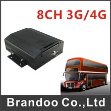 Inexpensive 3G/GPS 8 Channel Train DVR  For Truck Bus Ship Mobile Airplane