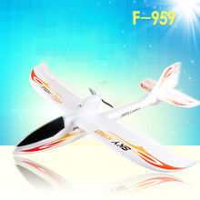 WLtoys F959 2017 New RC Aircraft 3CH 2.4GHz Rechargeable Li-Po Battery Wireless Remote Control Aircraft Wingspan RTF Airplane(China)