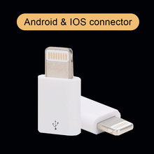 New android micro usb cable for 8 pin female converter adapter charger data charging cable for iphone 5 5c 5s if 6 6s 7 plus