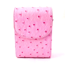 BON CREATION Cute Pink Micro Camera Bag Universal Hard Cover Spot Pattern Protective Case for Sony Canon Samsung Nikon Olympus(China)