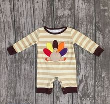 girls thanksgiving new design turkey outfits infant toddler baby girls romper infant jumpsuits clothes thanksgiving sets
