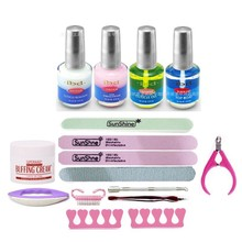 EM-129 FREE SHIPPING IBD nail art tools nail kits sets topcoat nail strengthener cuticle remover cuticle oil(China)