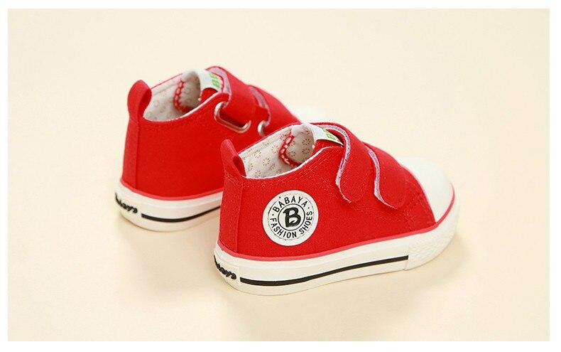 Enfants chaussures pour fille enfants toile chaussures garçons 37