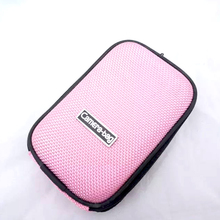 BON CREATION Sweet Pink Clutch Micro Camera Bag EVA Hard Cover for Sony Canon Samsung Nikon Casio Olympus(China)