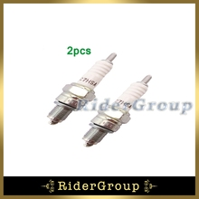 2pcs Ignition Spark Plug NGK C7HSA For 50cc 70cc 90cc 110cc 125cc ATV Quad Pit Dirt Motor Bike Motorcycle Moped Scooter