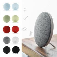 M9 Wireless Bluetooth Speaker Mini Hifi Subwoofer Outdoor Music Sound Cloth Loudspeakers for Cellphone DIY Home decoration(China)