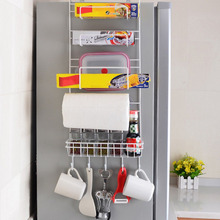 Refrigerator Rack Side Shelf Sidewall Holder Multifunctional Kitchen Supplies Organizer Household Multi-layer Fridge Storage(China)