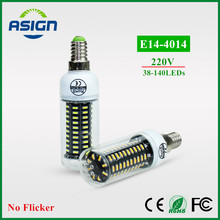 LED Bulbs Ultra High Lumen 4014 LED Corn Bulb E14 220V LED lamp light Chandelier 38LEDs 55LEDs 78LEDs 88LEDs 140LEDs Spotlight