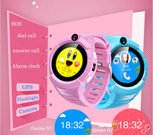 hot GPS Kids Smart Watch phone with Camera flashlight VM50 Location Child Touch smartwatch SOS Anti-Lost Tracker baby pk Q90(China)