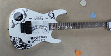 New ES guitars KH-2 Kirk Hammett Ouija electric guitar in white color free shipping