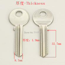 A147 Wholesale Locksmith Keymaster Brass House Home Door Blank Empty Key Blanks Keys