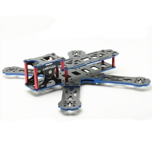 Lantian LTX-HEX4-215 215MM Carbon Fiber Mini Frame Kit For FPV Racing RC Quadcopter Multicopter Drone Toy Spare Parts(China)