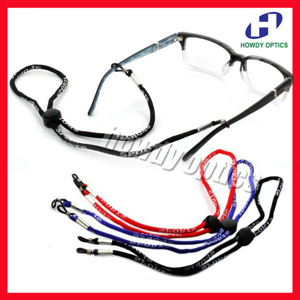 DH030 Wholesale 50pcs Eyewear Eyeglasses Glasses Sport holder cord chain string Free Shipping