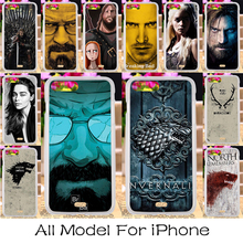Silicon Hard PC Phone Cases For Apple iPhone 5C 5 5s 55s SE 5SE 6 6s Plus iphone5c Case Covers Game Thrones Flag Shell Housing