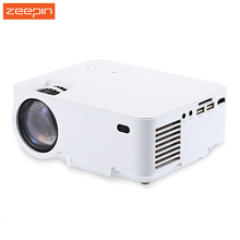 Zeepin T20B Protable Android 4.4.4 Wireless Projector 2.4GHz WiFi 1500 Lumen HDMI Home Theater With AV SD Card VGA USB Interface